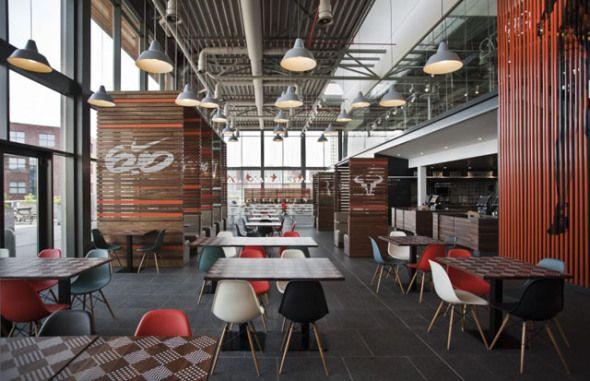 Nike In Beaverton Oregon Part 1 Canteen Design Hotel Interior
