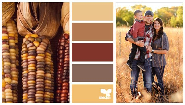the original pin was something about what to wear for a fall family photo, I like the color scheme itself for my family room facelift