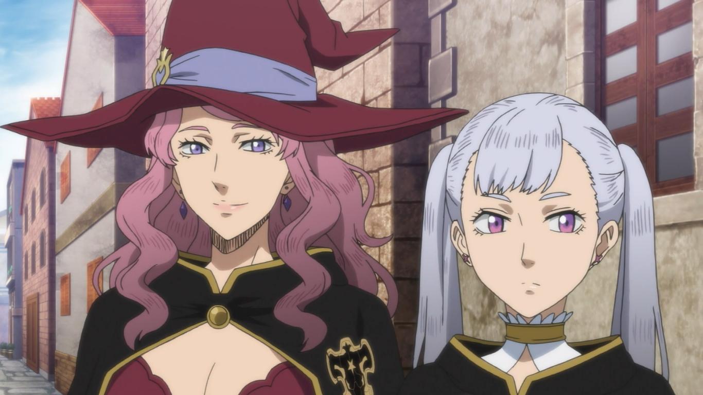 Black Clover Noelle Vanessa Black Clover Anime Anime Shows Black Bull