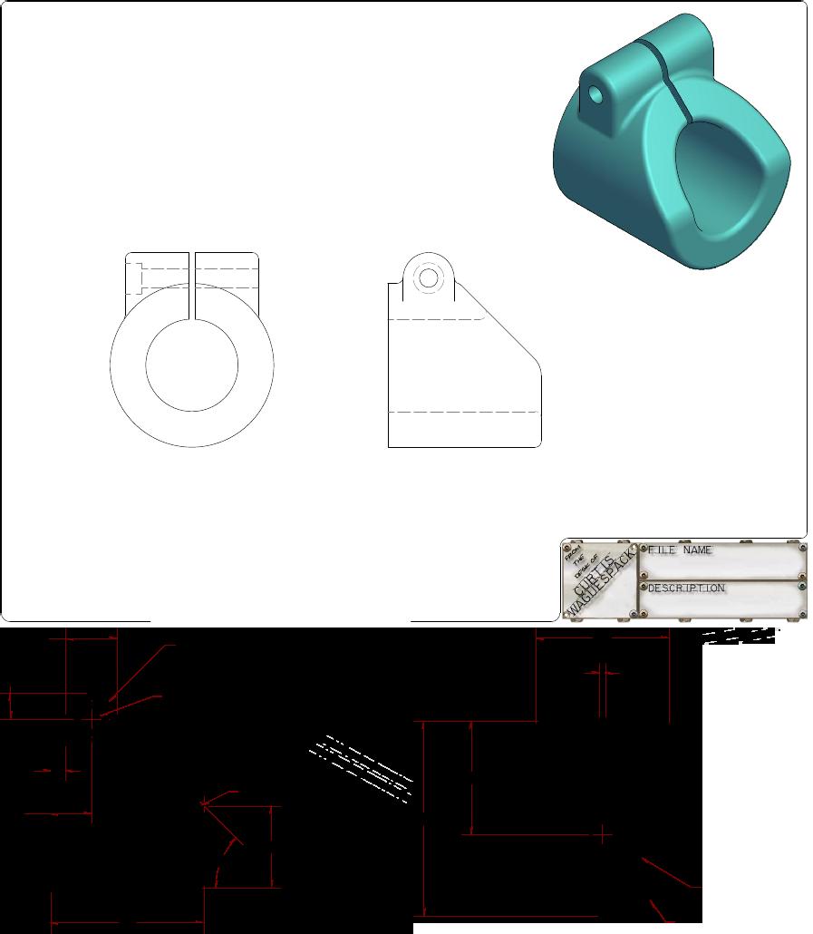 Autodesk Inventor Practice Part Drawings Autodesk Inventor Drawings Inventor