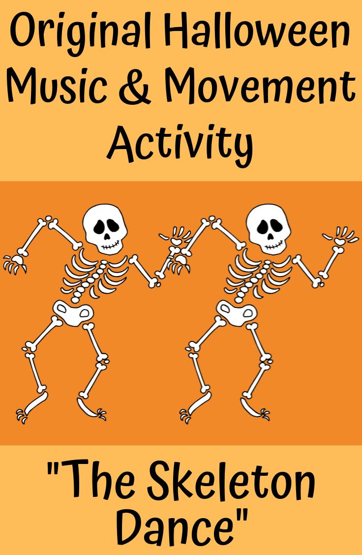 Halloween Song & Dance | Skeleton Activity | mp3s, Music, Lessons, SMART & Video #danceandmovement