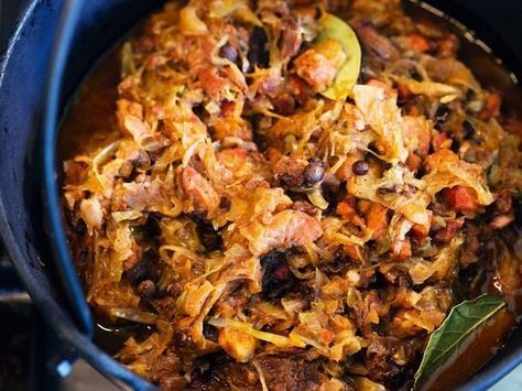 From a Polish Country House Kitchen's Hunter's Stew (Bigos) Recipe