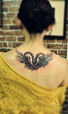 7f840536a zodiac Aries #tattoo design on the back | Girl tattoo, Feminine ...