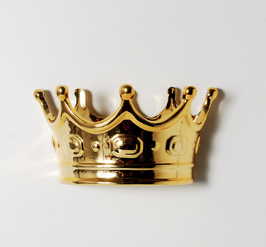 Envilu - The Crown Jewels - Golden Crown Wall Hook by imm Living, $36.00 (http://www.envilu.com/the-crown-jewels-golden-crown-wall-hook-by-imm-living/?gclid=CNTg3rzKqcUCFcKHaQodv7cA-w/)