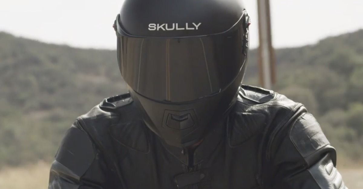 "While the Skully AR-1 may look like a normal helmet, the self-proclaimed ""world's smartest motorcycle helmet"" will likely do more than protect your head."
