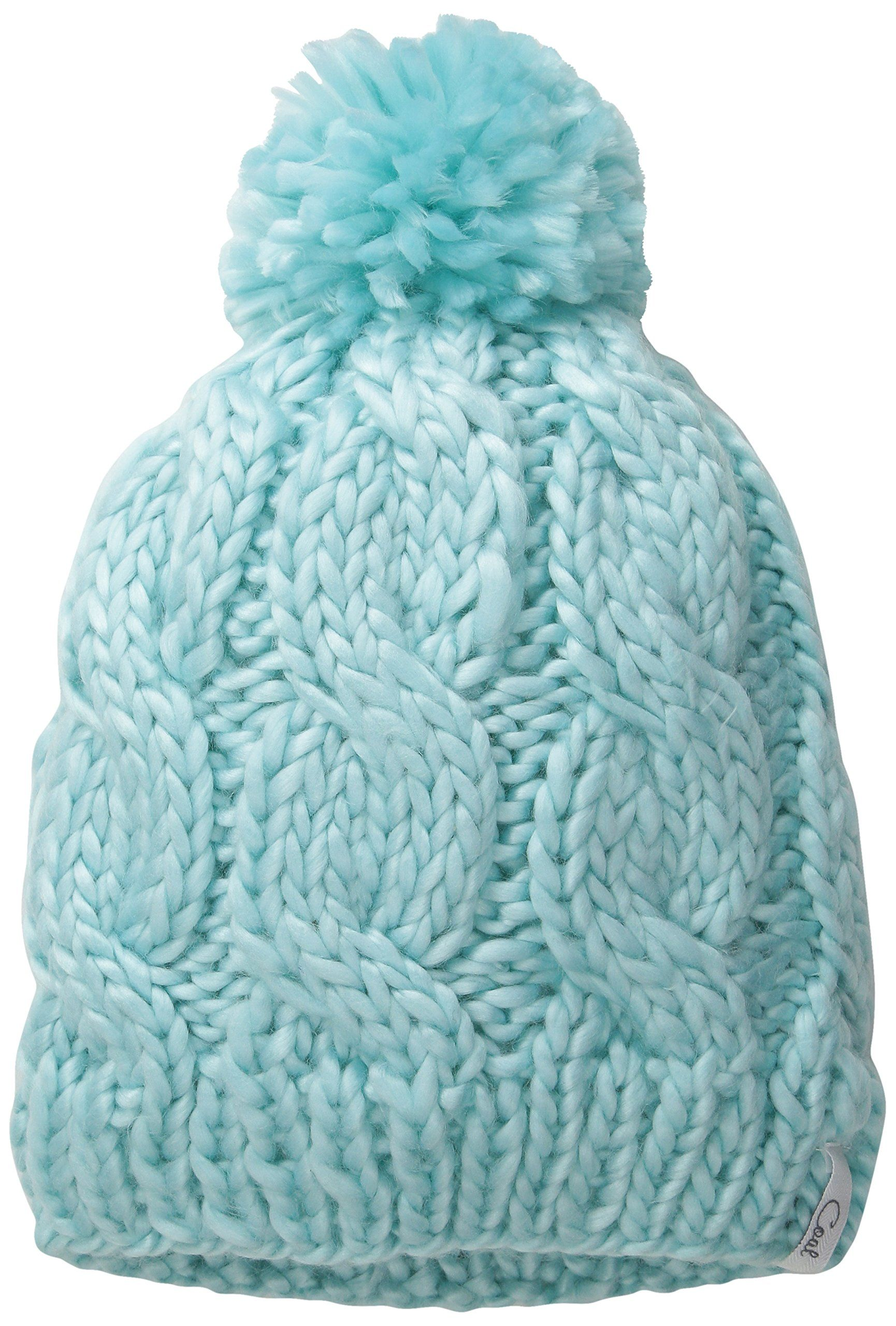 f228556a21b Coal Women s The Rosa Chunky Cable Pattern Beanie with Pom Pom