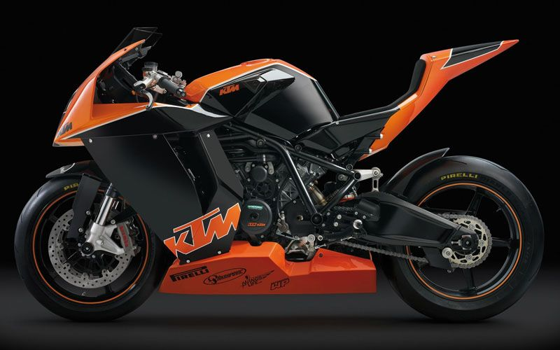 you could buy a new ktm rc 8 or you could buy a 2011 model with 3000