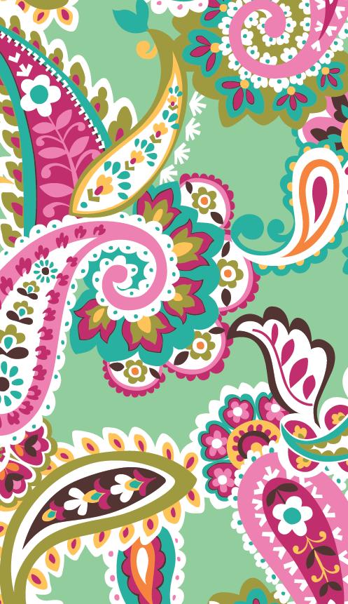 Vera Bradley Tutti Frutti Iphone Wallpaper Vera Bradley Wallpaper Flower Wallpaper