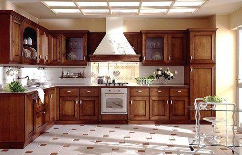 Decoracion y Diseño en Cocinas de Madera   Casa   Pinterest