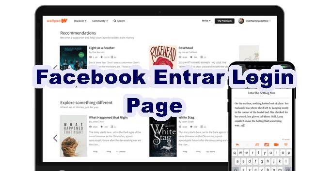 Facebook Entrar Login Page Log into Facebook Sign Up ...