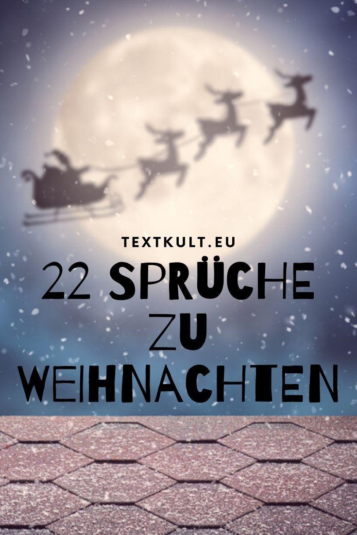 22 Sprüche zu Weihnachten