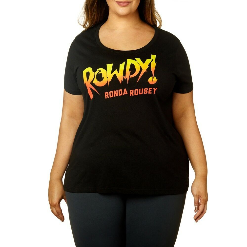 WWE Girls Ronda Rousey Rowdy Short Sleeve T-Shirt T-Shirt