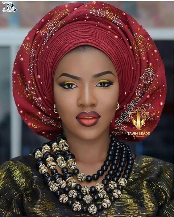 Latest Gele and Turban Styles 2018 and African appearance #africanbeauty