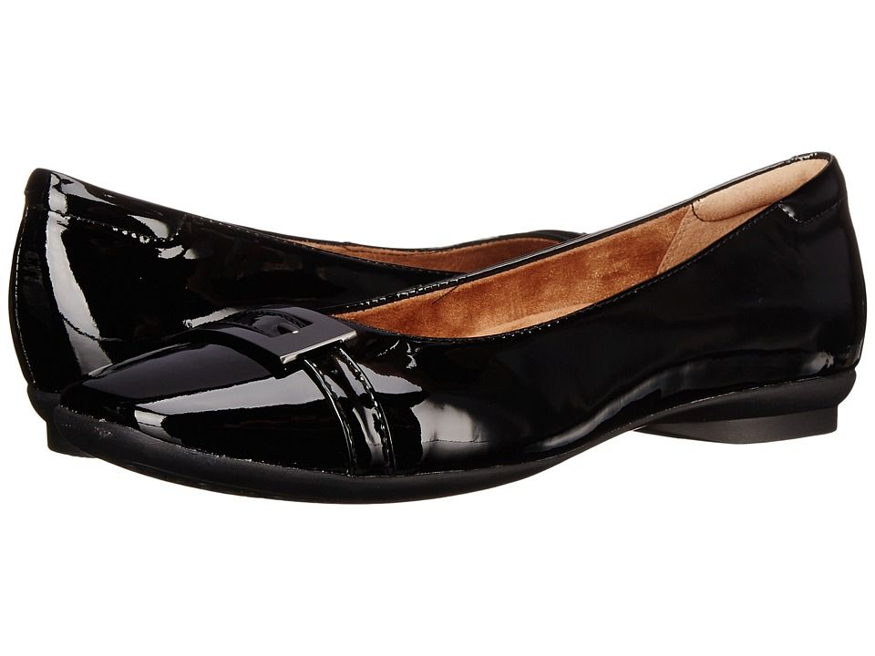 Womens Shoes Clarks Candra Glare Black Patent Leather