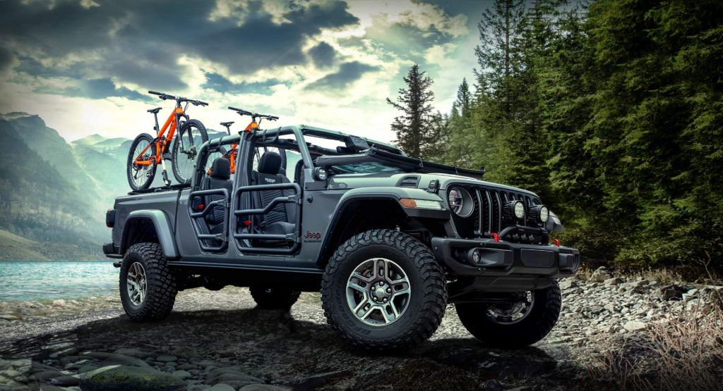 2020 Jeep Gladiator Already Worthy Of Mopar S Attention With