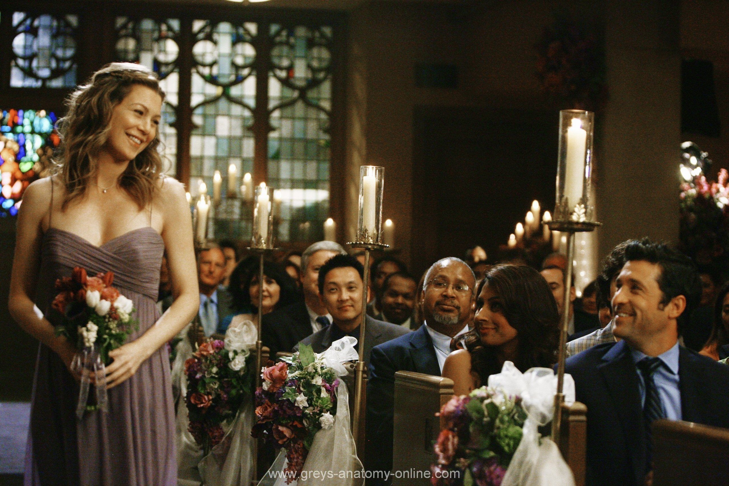 meredith and derek at izzie and alexs wedding love this