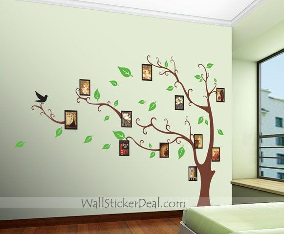 Memory Tree Photo Frame Wall Stickers Part 26