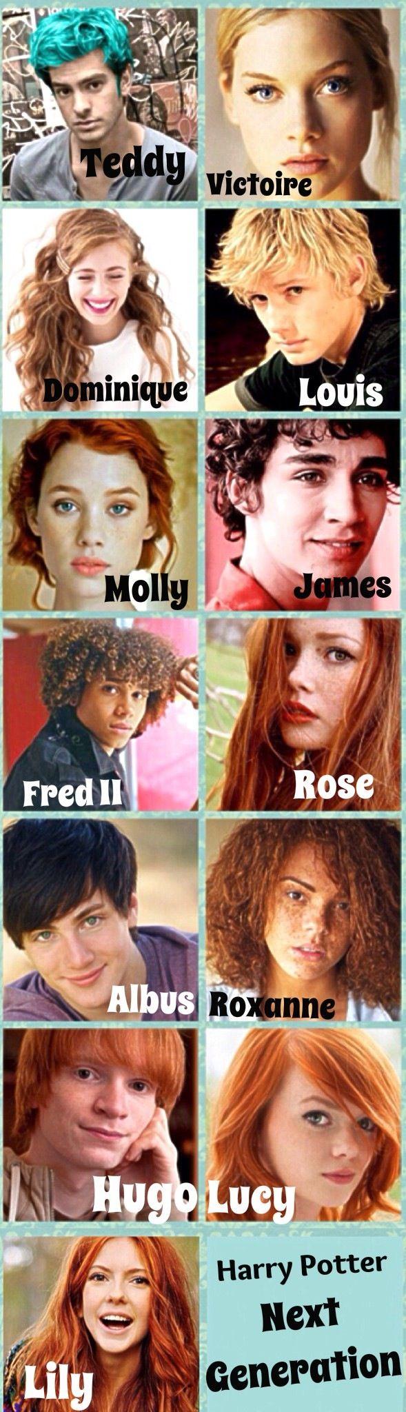 Harry Potter Next Generation! | Next generation | Harry ...