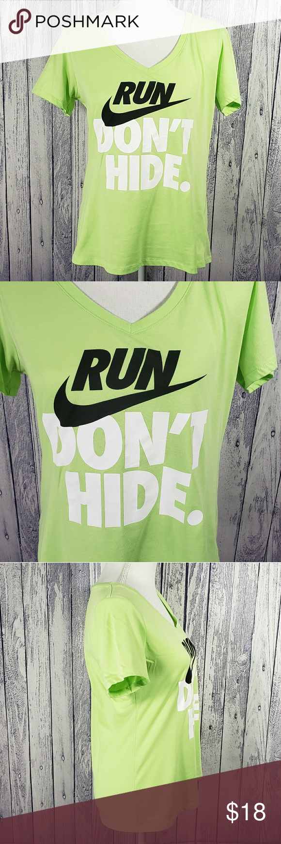 5b268815bd0 Nike Run Don't Hide Graphic Tee s7-3 Nike Dri-Fit short sleeve v ...