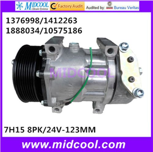 High Quality Auto Ac Compressor 7h15 For Others 1376998 1412263