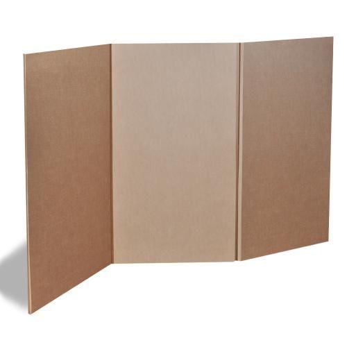 Biombos en carton buscar con google exposiciones y - Como hacer una mampara ...