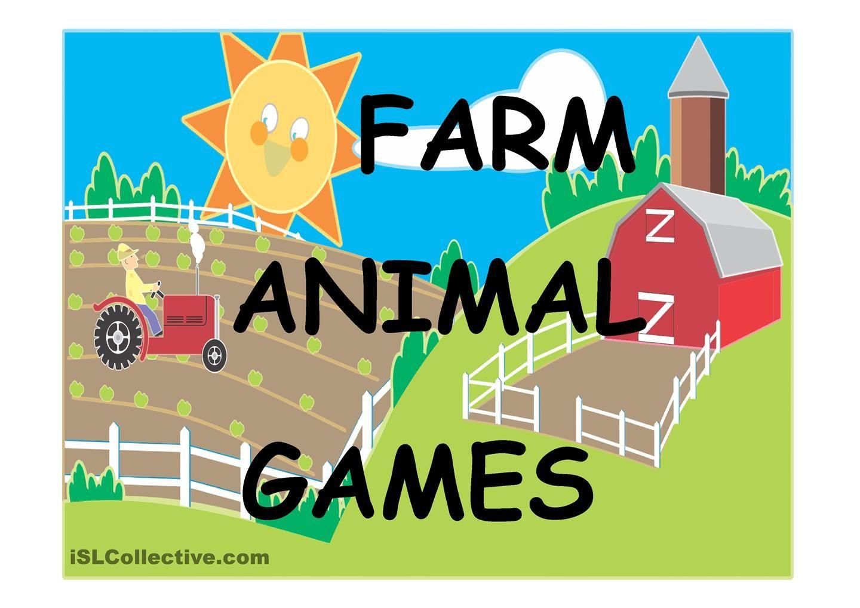 Farm Animal Games