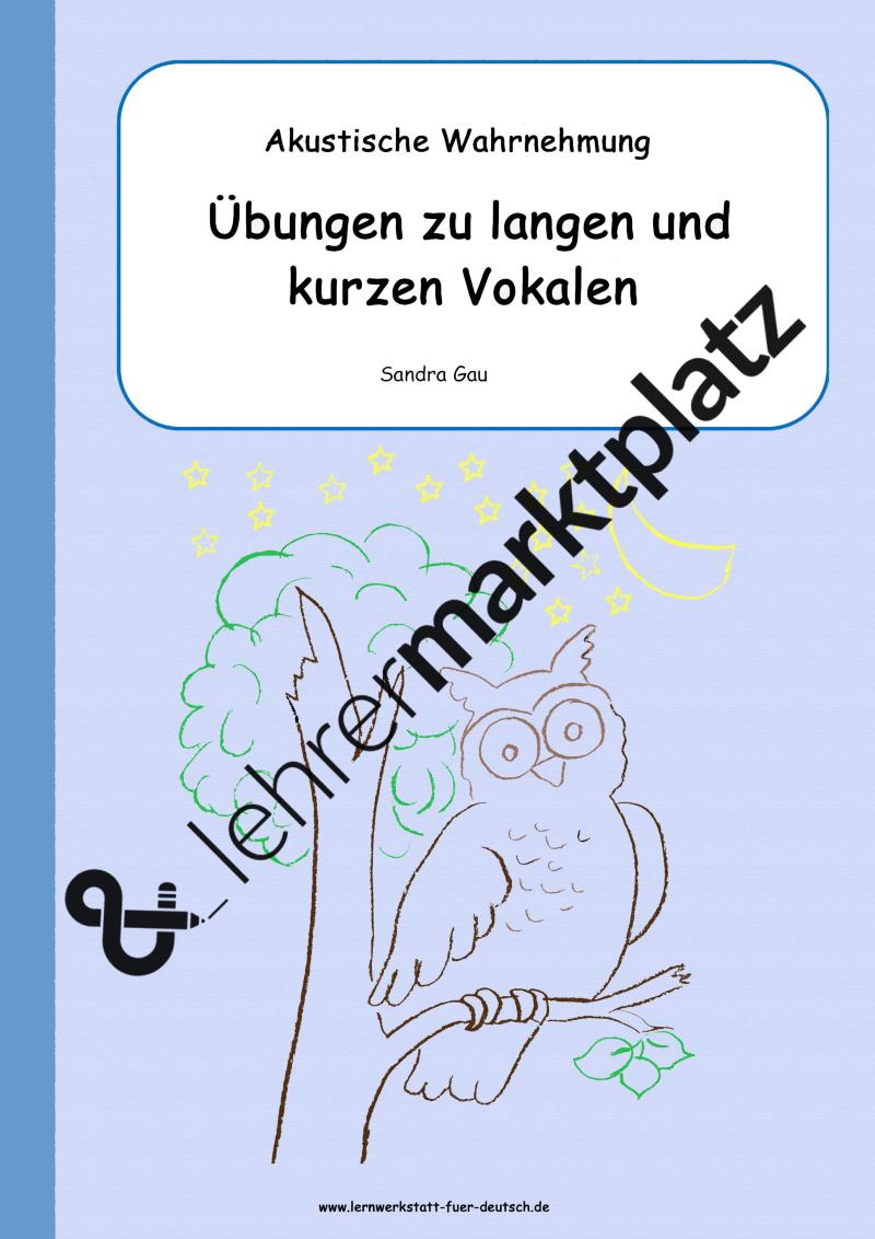 Unterrichtsmaterial zu Alphabet Arbeitsblätter, Merkblätter (f ...