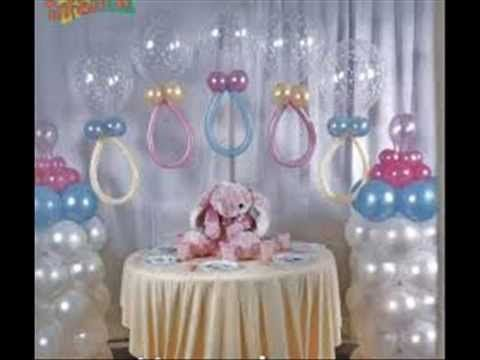 Image Detail For  Decoracion Con Globos Para Baby Shower