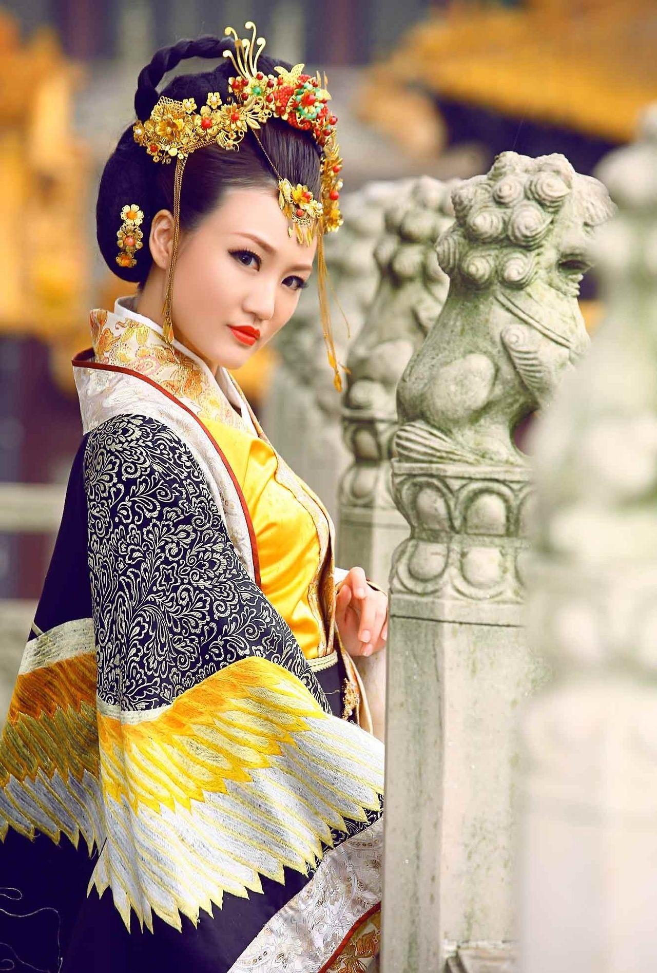 mingsonjia: 唐风汉服 Tang Dynasty Style Hanfu | Clothing Oriental ...