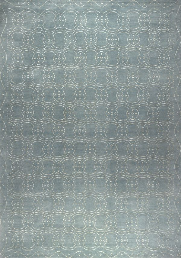 New Moon Rug   Ornament 6, Cloud. The Sophisticated Dot Pattern Features A  Cloud