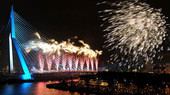 Rotterdam Netherlands New Year S Eve Around The World Holidays Around The World Beautiful Places On Earth