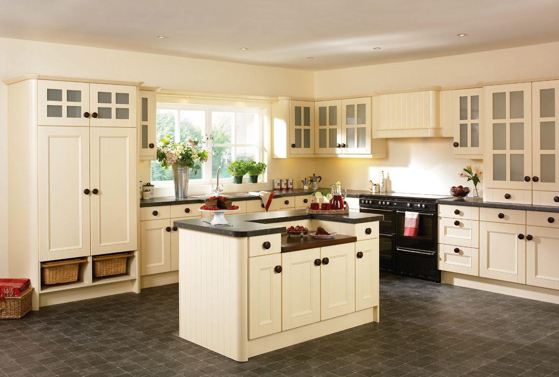 cream kitchen   Google Search   Best kitchen cabinets, Classic ...