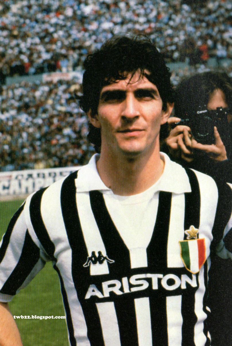 Paolo Rossi Juventus Pinterest