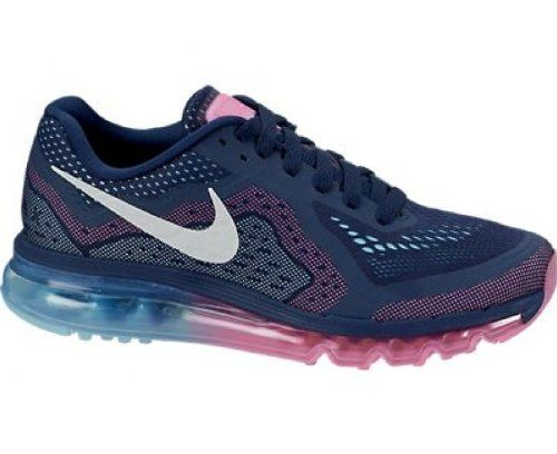 Nike Air Max 2014 Womens Running Shoes 621078 415 Midnight