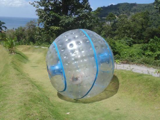 Rollerball Zorbing Phuket Thailand #kids #familyvacation