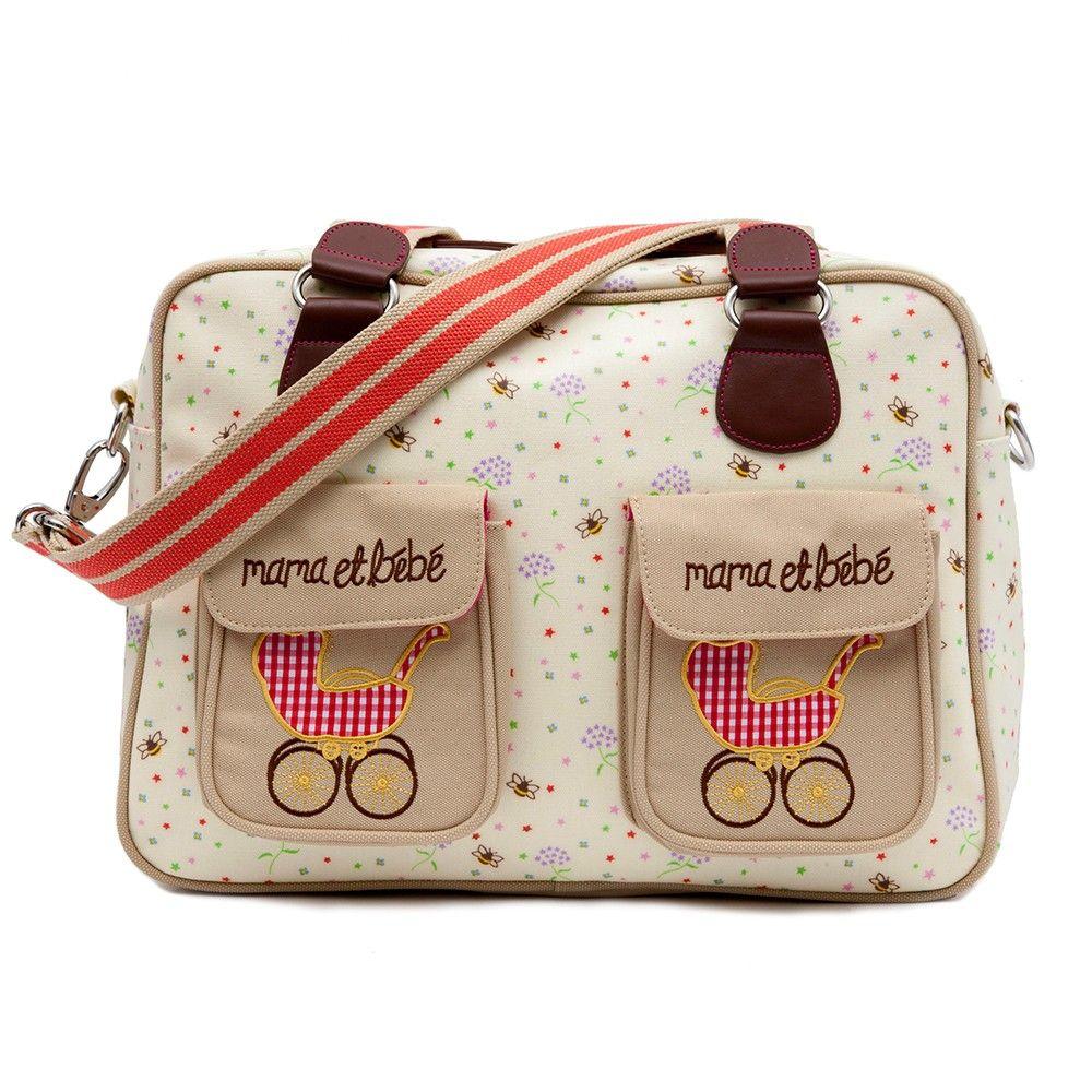 Mama et Bebe Changing Bag | Pink Lining | Diaper bag, Bags