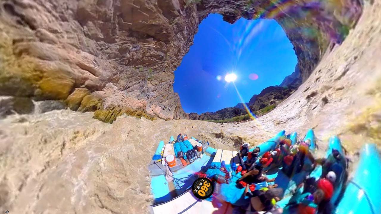 360 Degree Video Of Grand Canyon Rafting With Western River