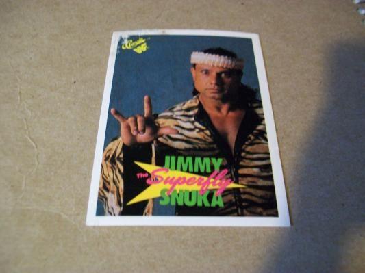 1990 card / Superfly Jimmy Snuka #69