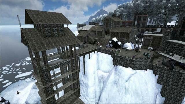Hanapin Ang Pin Na Ito At Marami Pa Sa Ark Survival Evolved Base Ideas Ni  Attack4s.
