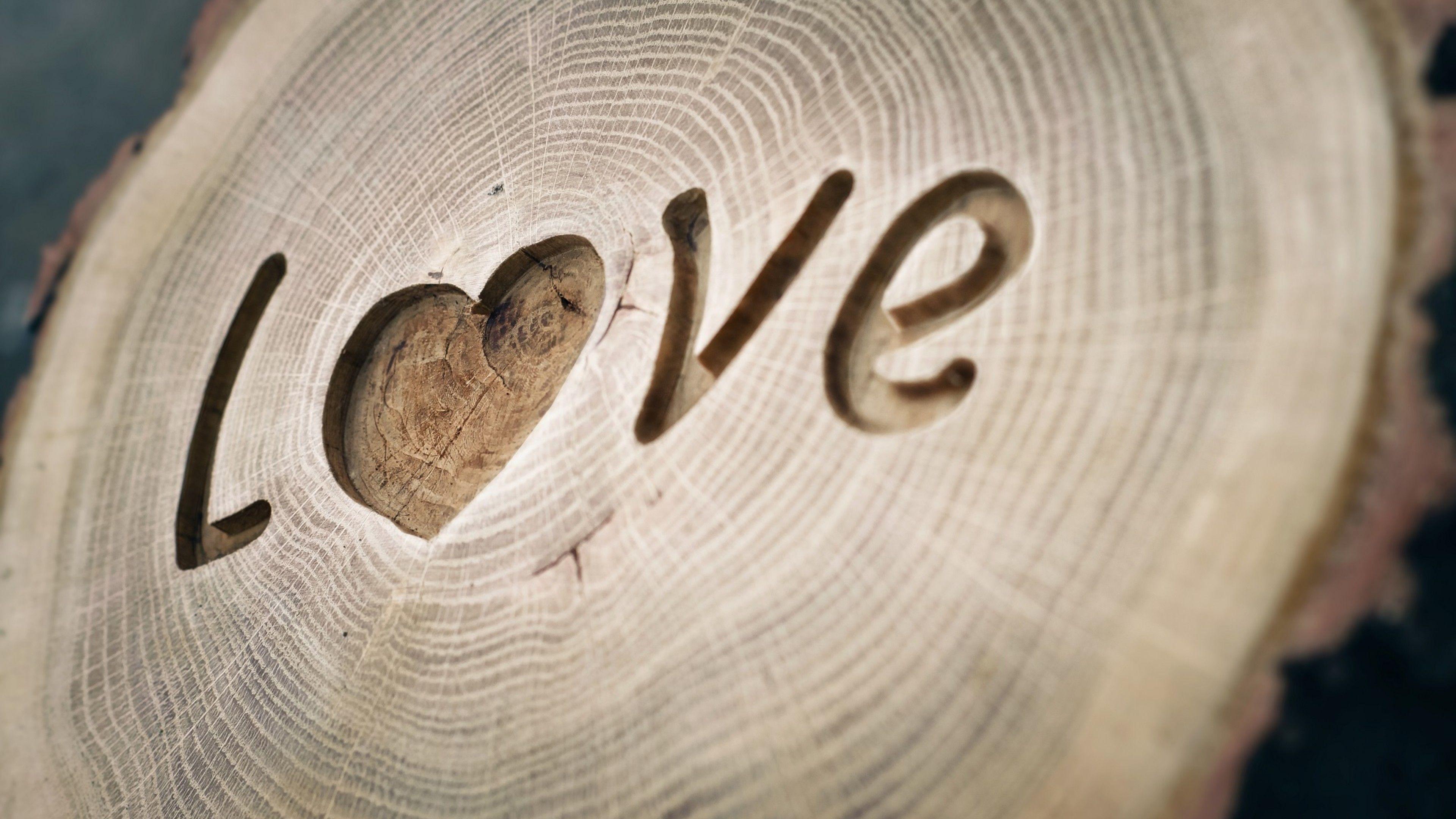 Wooden Love 4k Wallpaper 3840x2160 4kwallpaper Wallpaper Nature 4k Wallpaper 3840x2160 Love Wallpaper Wallpaper