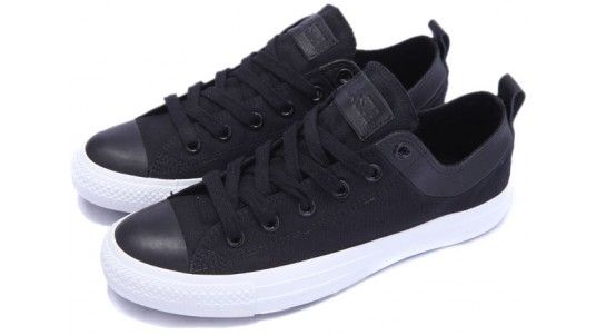 574 Resort Sporty Zapatos negros Converse para mujer 247 Sport 574 Leather Mesh tqbOJd