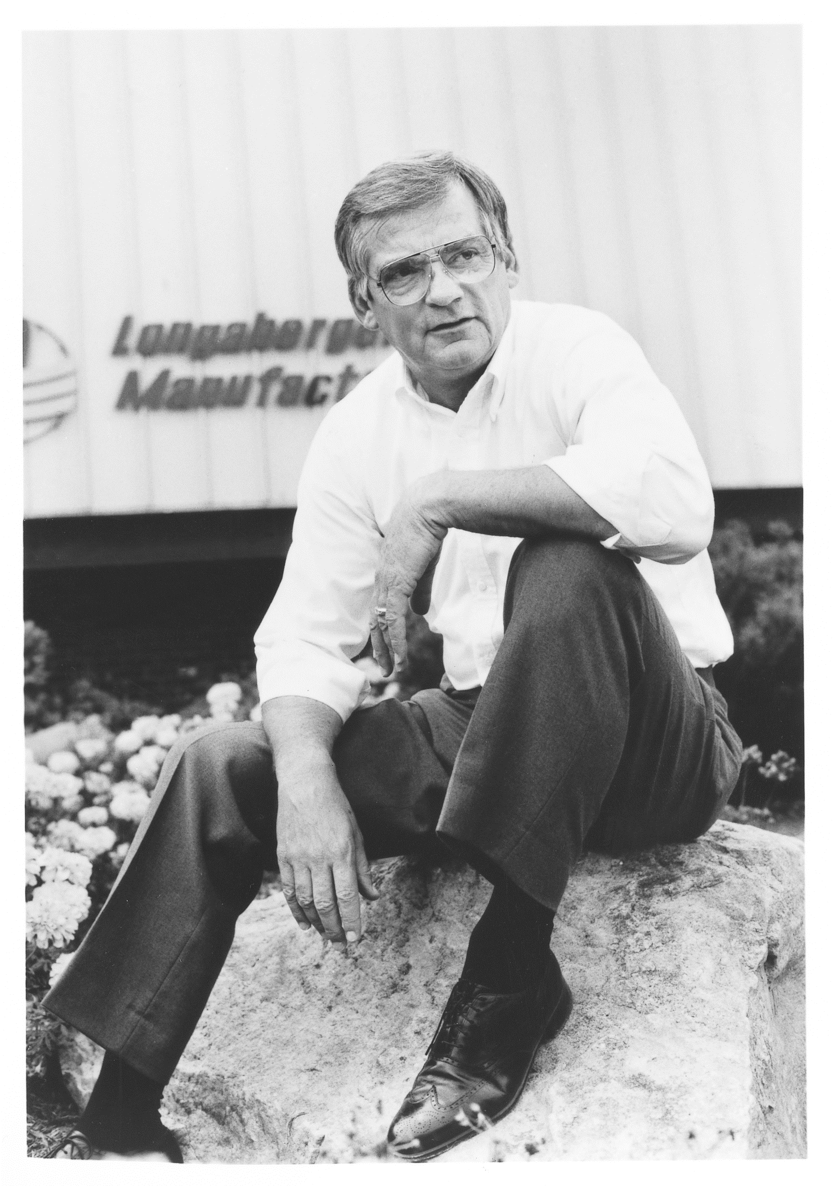Dave Longaberger encouraged others to keep a lighthearted attitude ...