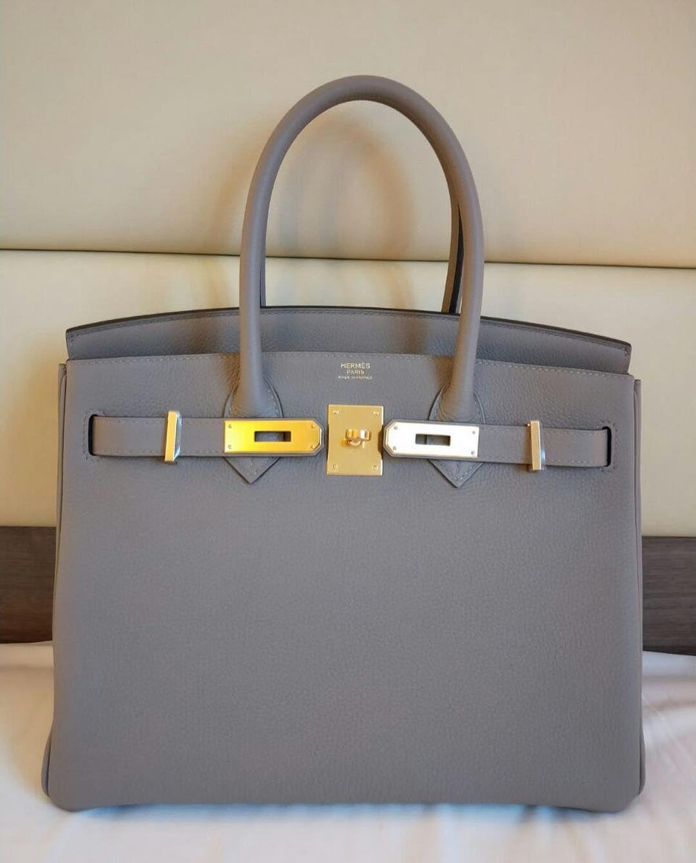 6a762054971 Brand New Birkin30 Gris Asphalte Togo Ghw A