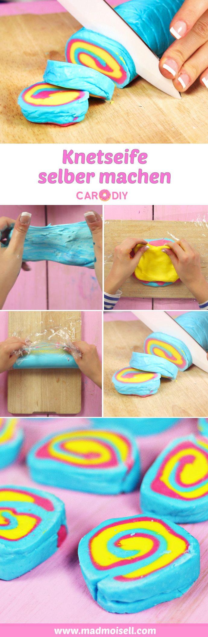 DIY Lush Knetseife selber machen – Lush Produkte selber machen #badekugelnselbermachen
