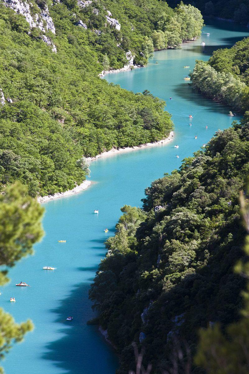 Las gargantas azules del río Verdon, Francia - Vacaciones a favor de la corriente: los ríos más viajables del mundo