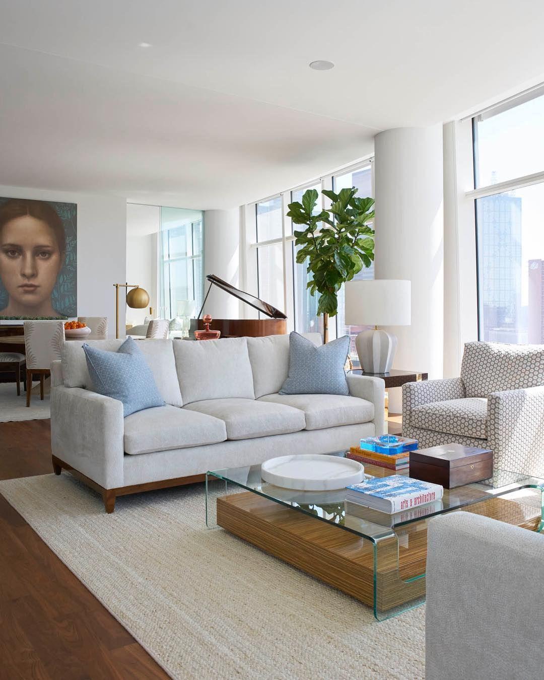 High Rise Interior Design By Jenkins Interiors Jenkinsinteriors Com Light And Bright Living Loft Li Family Living Rooms Living Room Loft Home Living Room
