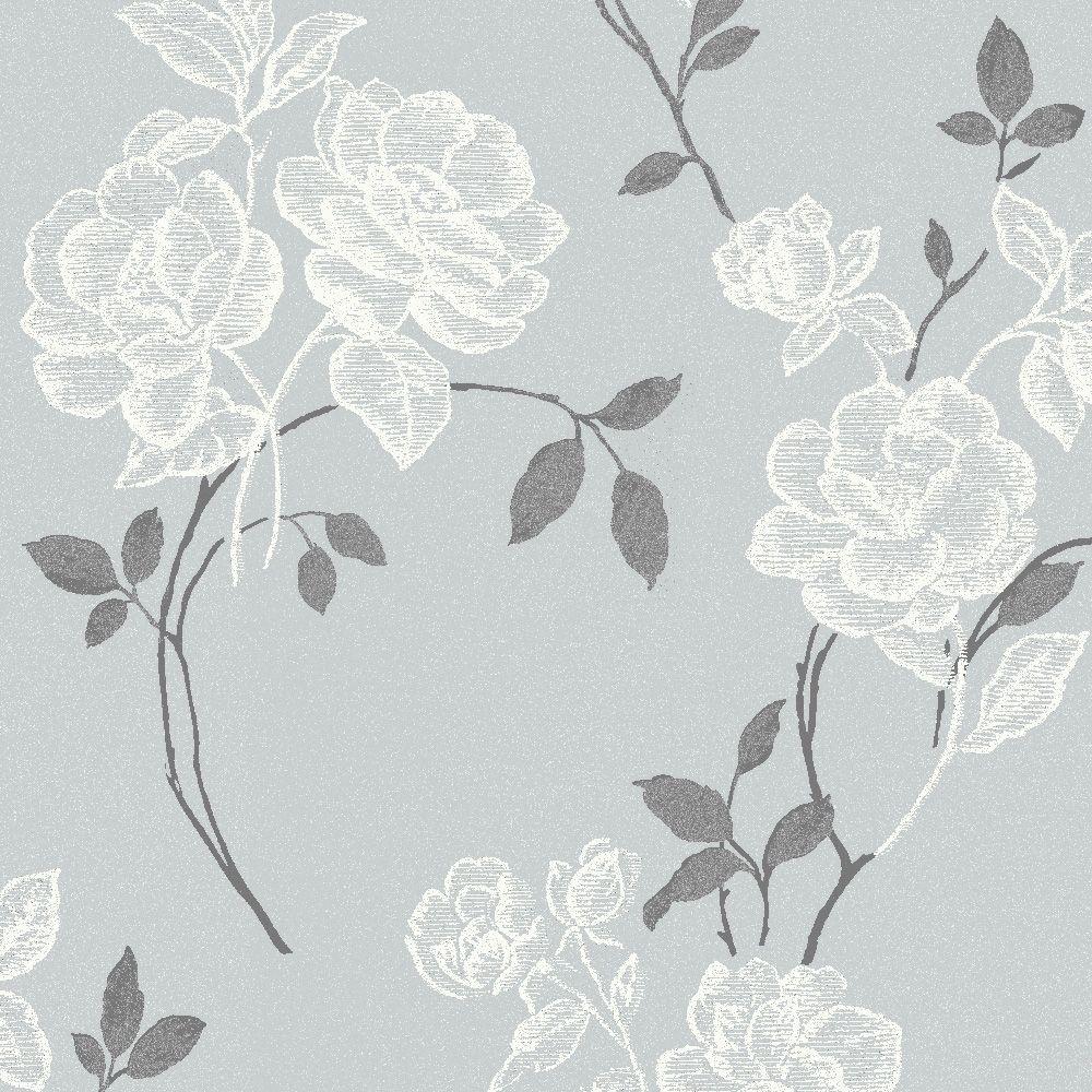 Grey Wallpaper B Q Spare Room 20 Desenler Duvar