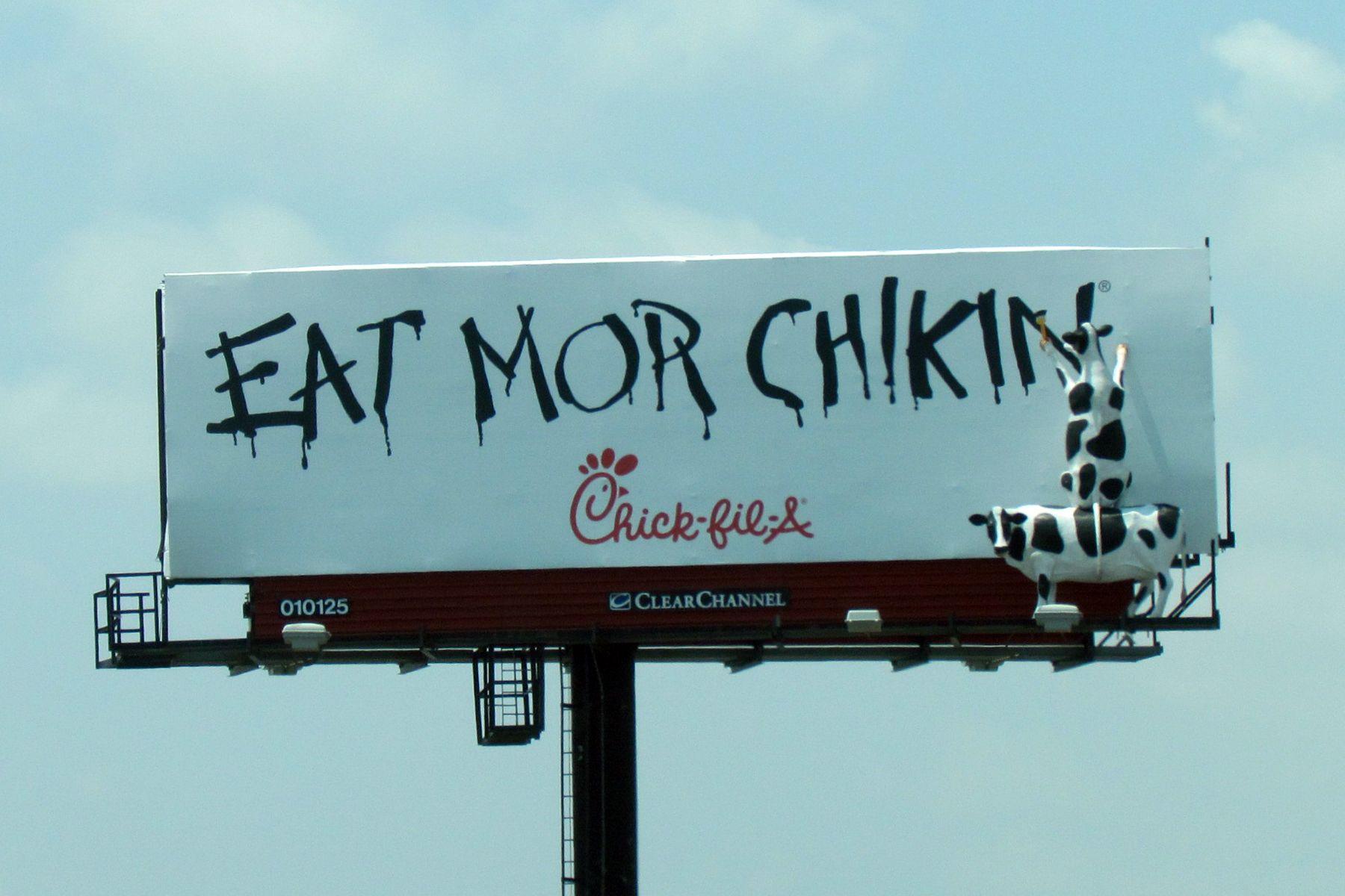 Eat more chicken! ChickFilA Eat more chicken, Chicken