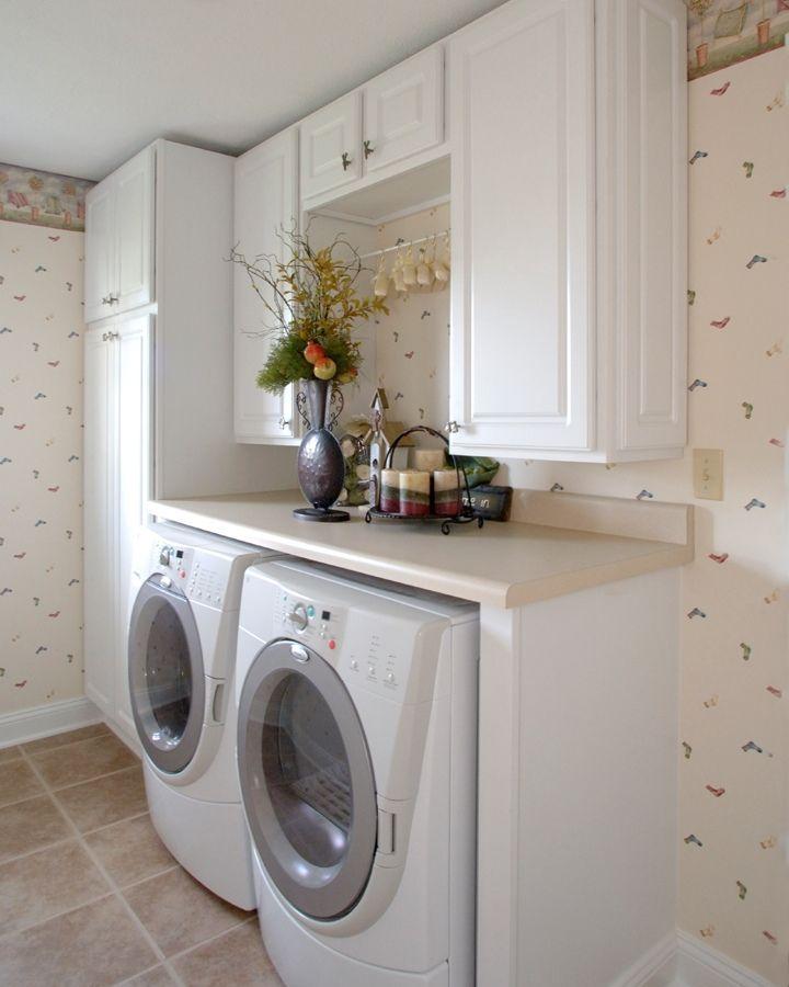 instala un cuarto de lavado en un espacio reducido On lavaderos modernos pequenos