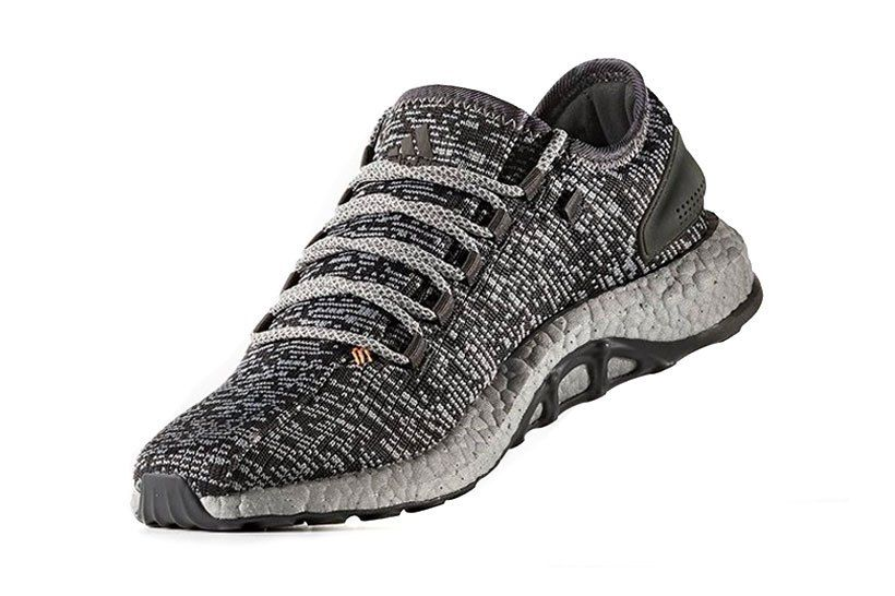new product 8aff7 64567 Adidas's PureBOOST Silhouette Receives A New Shiny Silver ...